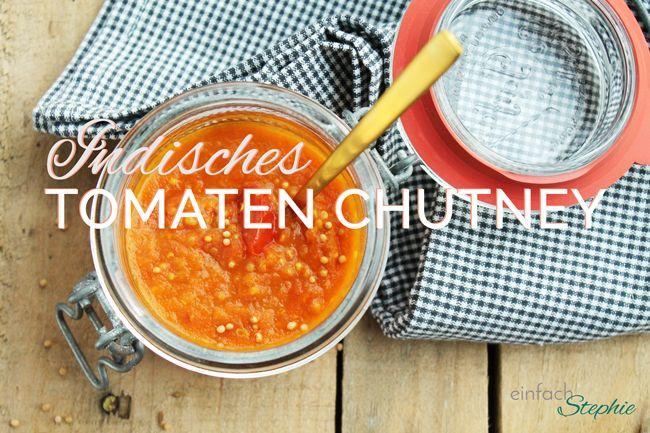 Indisches Tomaten-Chutney: Dip für Fondue und Raclette