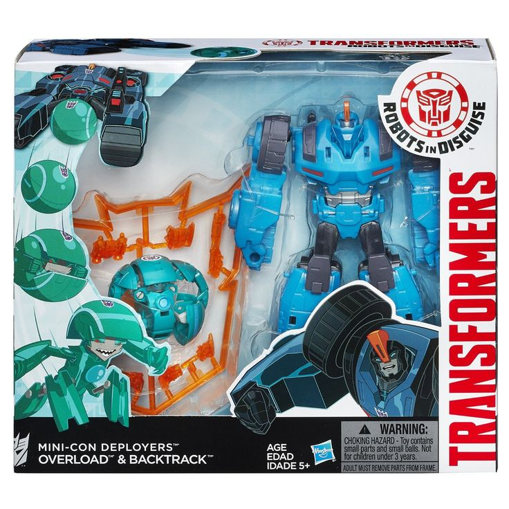Transformers Robots In Disguise Minicon Deployer Autobot Overload & Backtrack