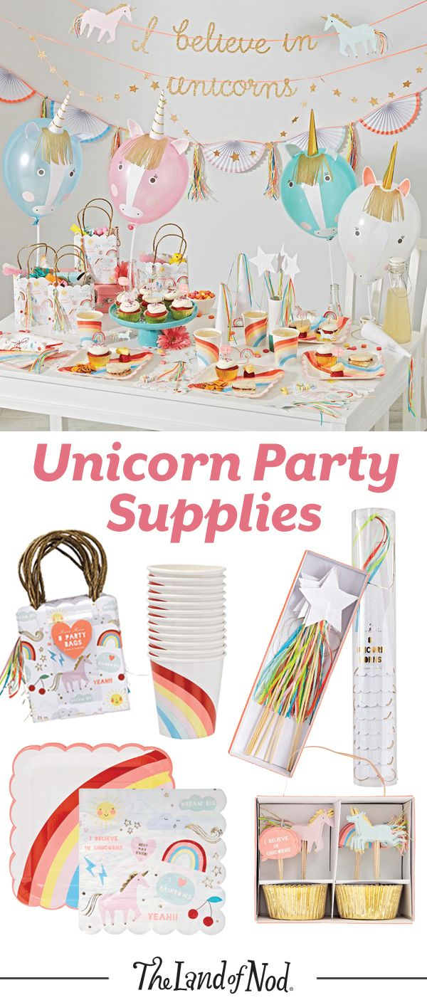 Planning a birthday party or special celebration? Add some kid-friendly unicorn party decorations for a festive update.