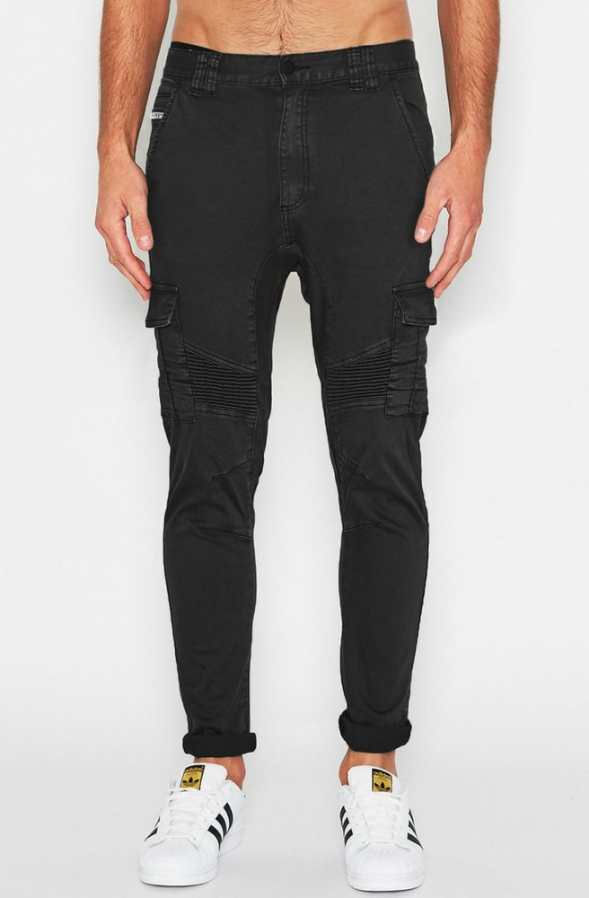 Nena & Pasadena - Typhoon Pants - Washed Black
