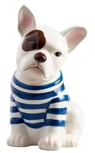 20 Awesome Gift Ideas For Dog Lovers Ceramic Cookie Jar French