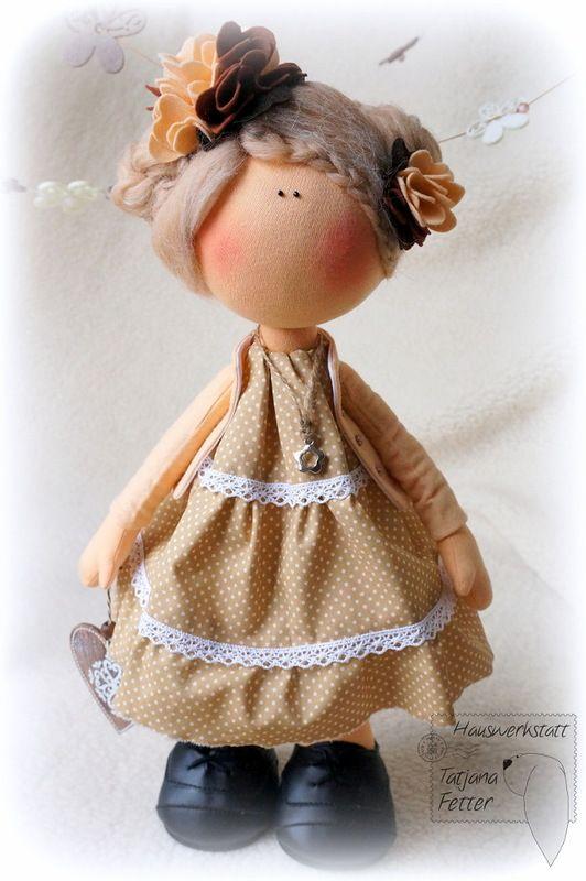 Куклы Татьяны Феттер - 12 Сентября 2013 - Кукла Тильда. Всё о Тильде, выкройки, мастер-классы.