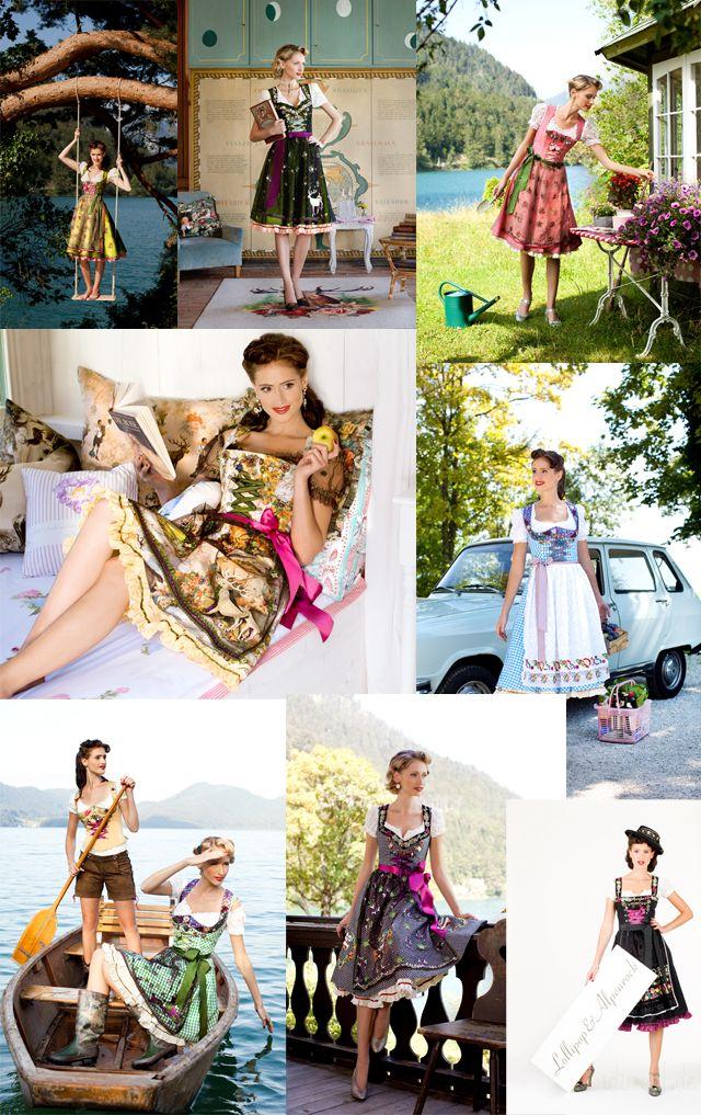 Lola Paltinger Couture - iDirndl.de - Wiesn 2011