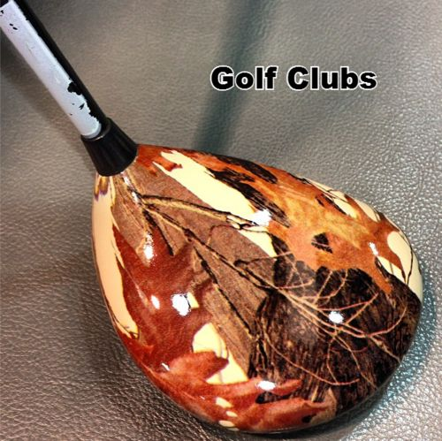 Hydro Dipped Golf Clubs