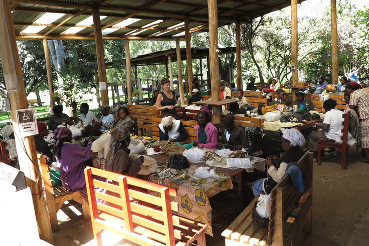 Kenana Knitters workshop - Kenya