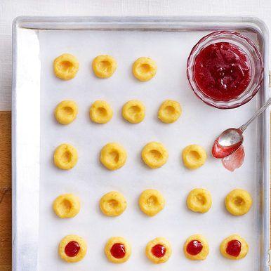 Top 5 Plätzchen mit Marmelade