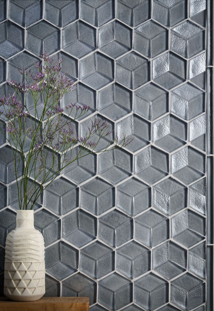 Divine Renovations Gl Mosaic Tiles 4 Inch Trilion Silverlight Iridescent