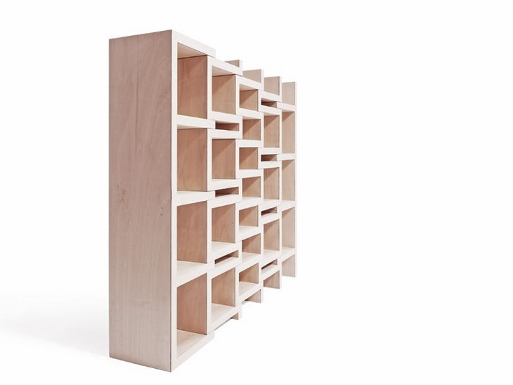 REK Bookcase by Reinier de Jong
