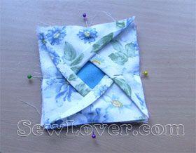 玫瑰折纸拼布制作教程——SewLover缝艺学堂