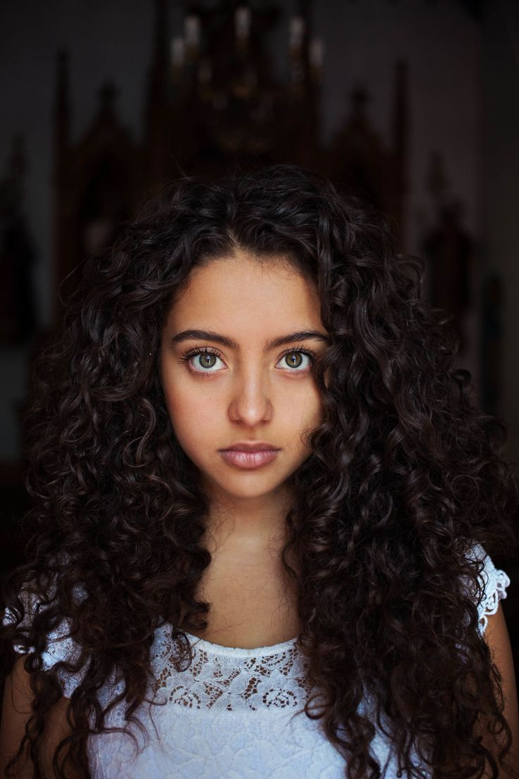 "This is what I mean by ""Colombian hair"" Amazing hair! - 21 Portraits of Beauty Around the World - ELLE.com"