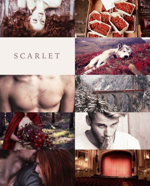 maradyeries: YA Books | Fairy Tales She did not know that the wolf was a wicked sort of animal, and she was not afraid of him. Marissa Meyer, Scarlet
