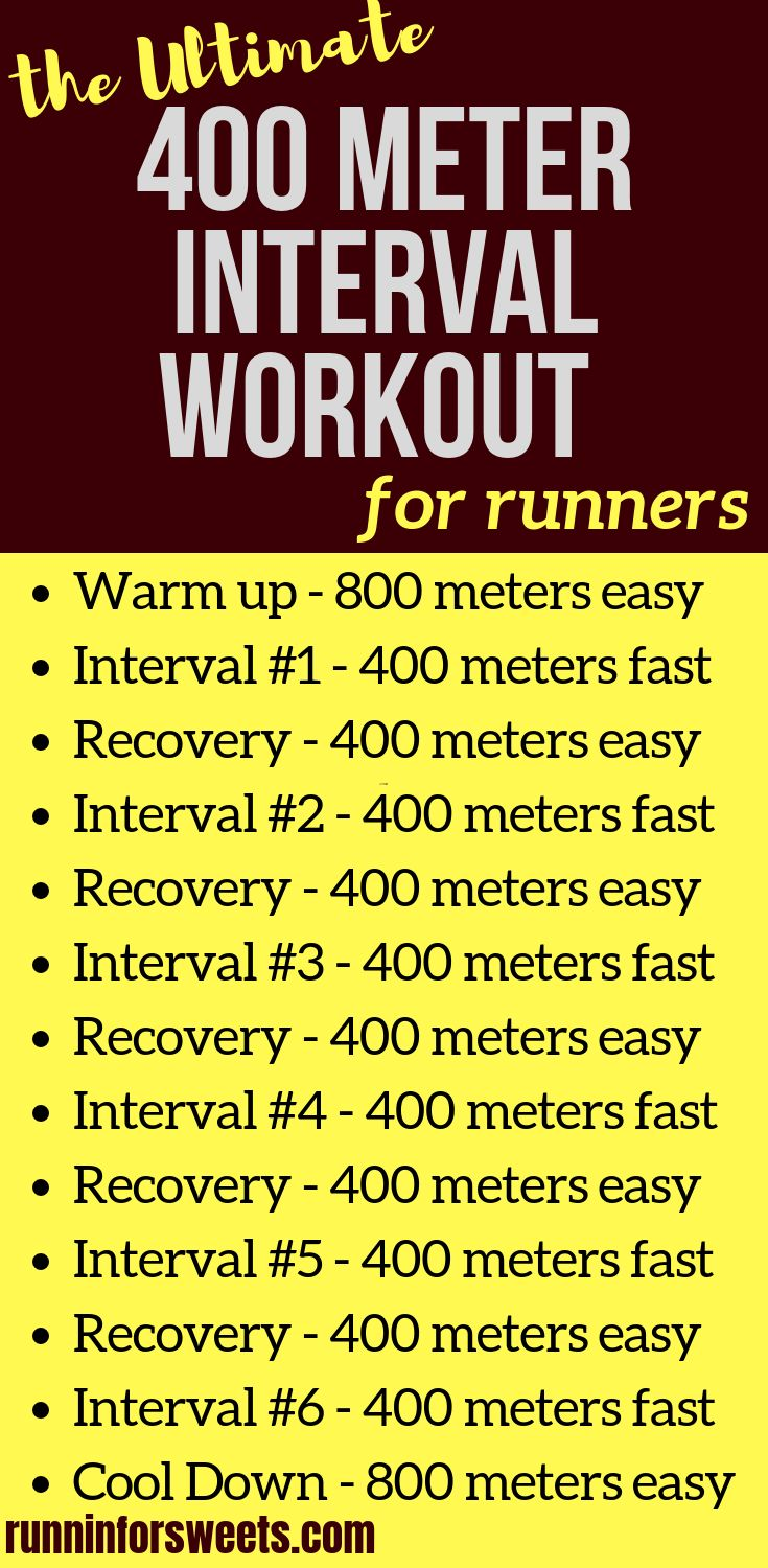 The Ultimate 400 Meter Interval Workout for Runners – Running Workouts