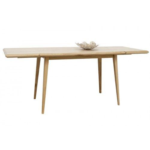 Holztisch Lovell, Höhe 75 cm, Breite 150 cm- 250 cm (ausziehbar), Tiefe 90 cm, 799 Euro, Eiche lackiert