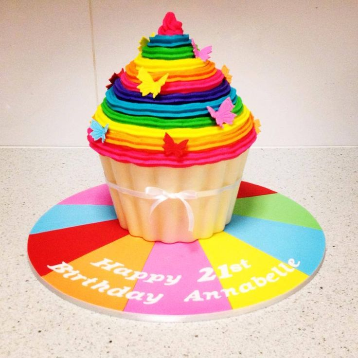 Rainbow Birthday Cakes Perth