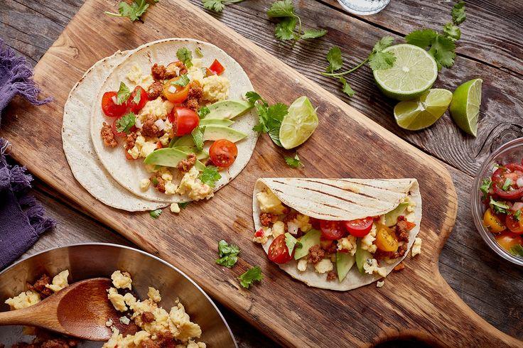 Mexican Chorizo Breakfast Tacos – Uteki Recipes, Food, & Cooking
