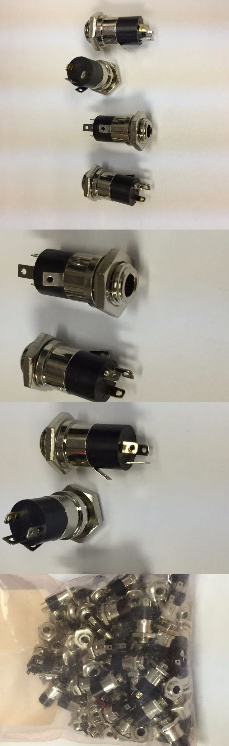 Audio Cable Plugs and Jacks: Sj5-43502Pm Panel Mount Audio Jack - 4 Connector 3.5 Mm Cuiinc. Lot Of 90 -> BUY IT NOW ONLY: $40 on eBay!
