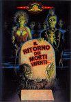la cover del dvd italiano de Il ritorno dei morti viventi
