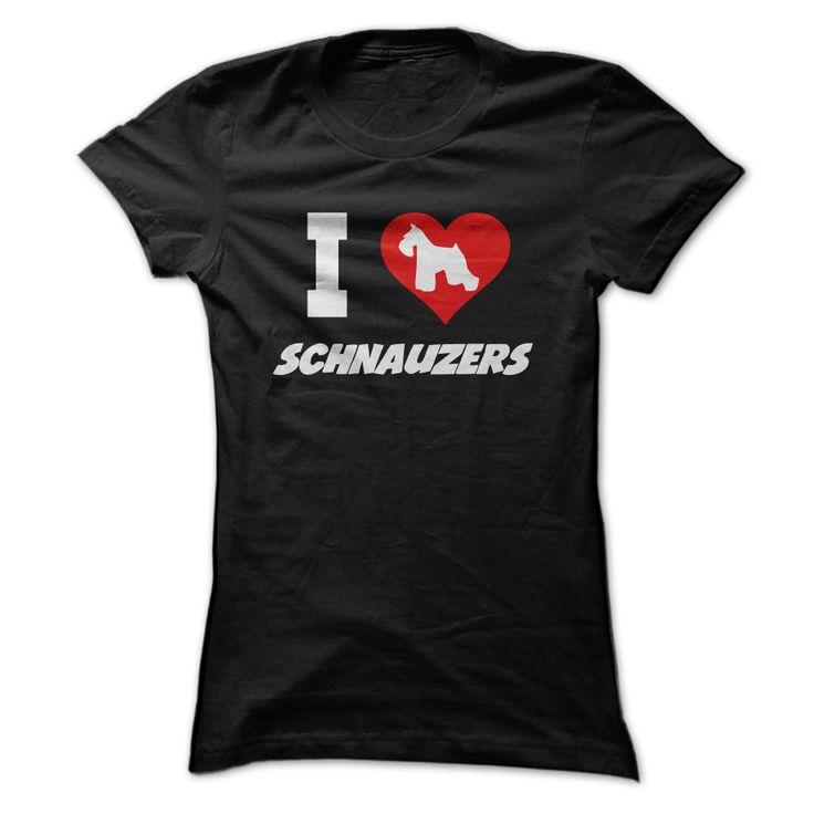 I Love My Dog Schnauzer Animal Lover T Shirt Design T: 311 Best Images About Miniature Schnauzer On Pinterest