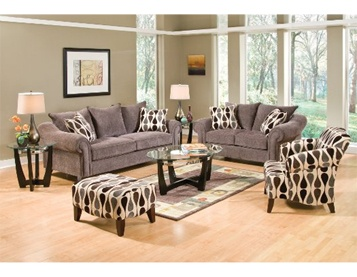 Our Castleberry Living Room Group Features A Sofa Loveseat Chair Ottoman Center