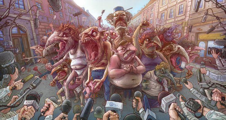 Awesome illustration ny Michal Dziekan