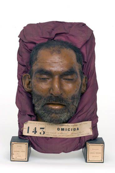 Lorenzo Tenchini, «Ritratto di criminale», 1885 ca, dal Museo del Dipartimento di Anatomia umana, Farmacologia e Scienze medico forensi di Parma