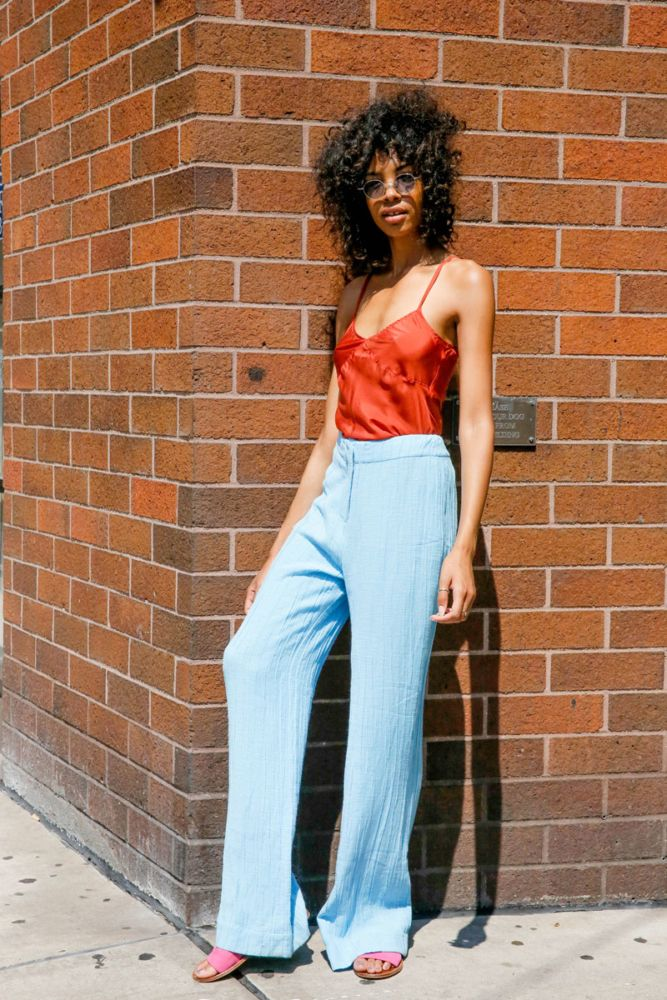 Go from summer to fall in these pants.