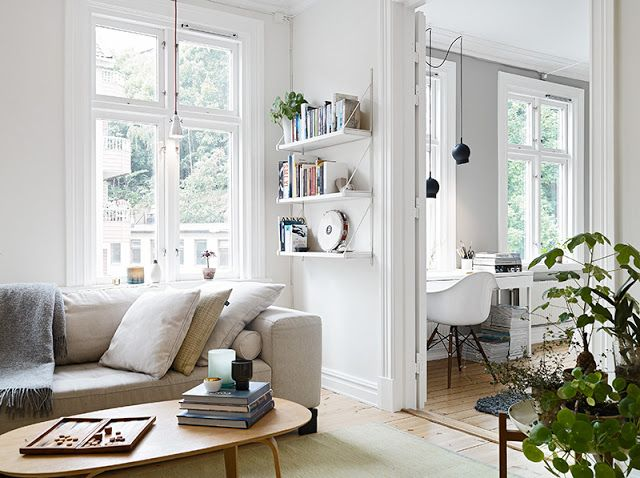 my scandinavian home: White and grey Gothenburg home tour
