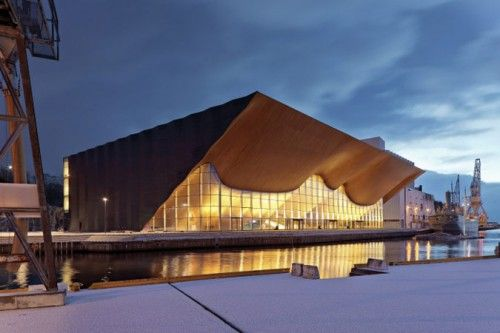 Kilden Performing Arts Center by ALA Architects. (Courtesy Center for Architecture)