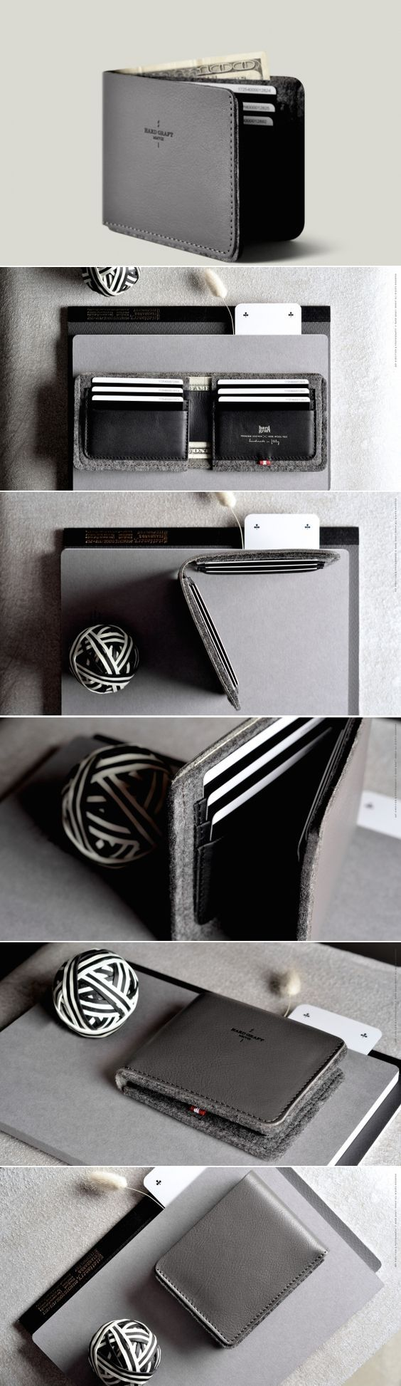 #hardgraft Bi-Fold Wallet: