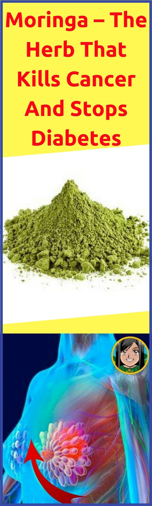 On the off chance that you should be more advantageous, have no issues with the body, have vitality and live more, this is the herb! Moringa oleifera is the supernatural plant of South Asia. It was utilized as a part of convention and prescription for a long time. It's otherwise called drumstick and is intense with cell reinforcement sum.