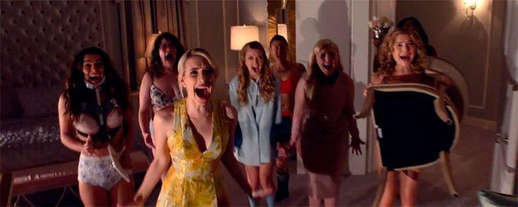 ¡Por fin! Primer trailer completo de Scream Queens