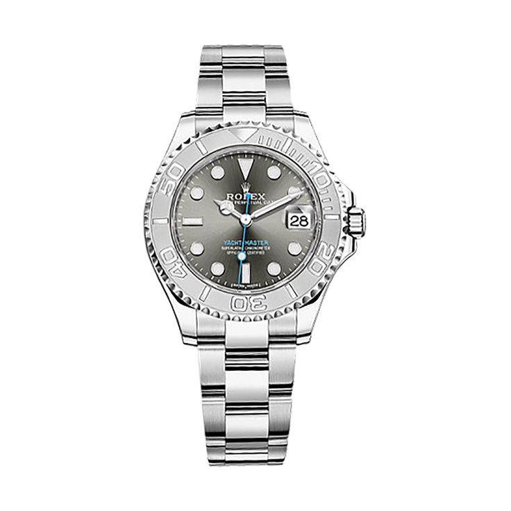 ROLEX [NEW] Yacht-Master Rhodium Dial Steel and Platinum Oyster Ladies 268622 (Retail:HK$86,800)   OUR PRICE 售價: HK$69,800.   #rolex #yachtmasterladies #yacht_master_ladies #rolexyachtmasterladies #rolex_yacht_master_ladies #Roelx268622 #yachtmaster268622