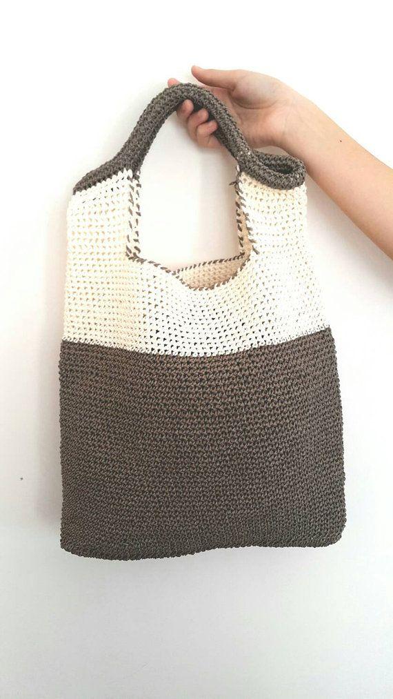 The 25 best crochet shoulder bags ideas on pinterest crochet items similar to handmade bagcrochet shoulder bag handbags summer fashion bagraffia yarn bags on etsy ccuart Image collections