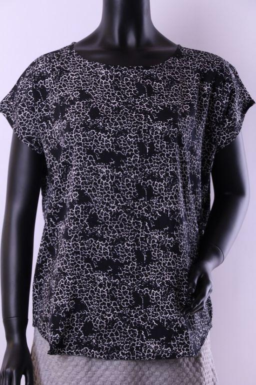 Fransa Tomin T-shirt Black Mix - T-shirts - MaMilla