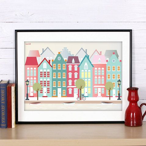 Hey, I found this really awesome Etsy listing at https://www.etsy.com/listing/255947434/amsterdam-print-amsterdam-poster-print