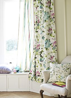Italian Gardens is the latest fabric collection to arrive at CurtainWorld and our first feature of 2015. #newfabric #curtains