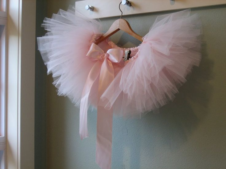 Plain walls just hang up some of Lottie's tutus