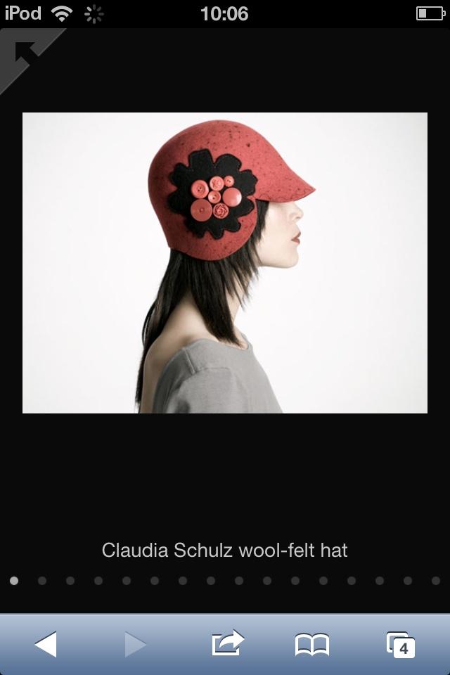 Beautiful hat...