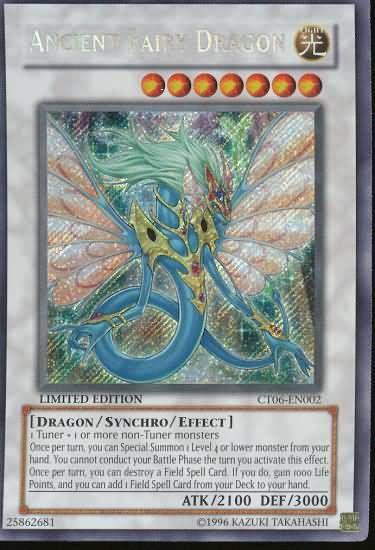 Ancient Fairy Dragon holo yugioh card