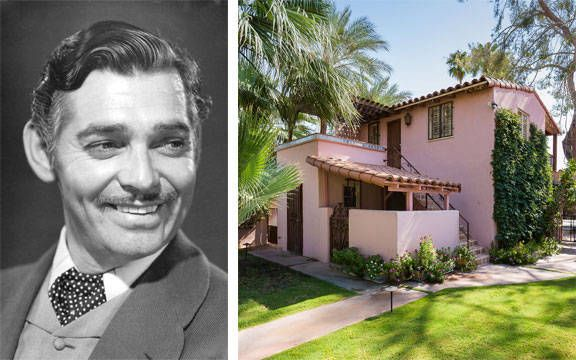 The former Palm Springs home of the Gone With the Wind actor was recently put on the market for $2.195 million. The 1925 home features four bedrooms, six bathrooms, a pool, and a pool house. And the current owner has ties to Old Hollywood as well — he's Joel Douglas, son of Kirk Douglas. Tour the house here >>   - HouseBeautiful.com