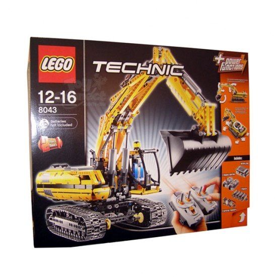 #games #australia #toys #children -   LEGO Technic Motorized Excavator. No job too big or Small for this heavy duty Motorized Excavator! Just flip a switch on the Lego Power Funtions dual infrared remote comtol to drive the excavator to job sites, sp