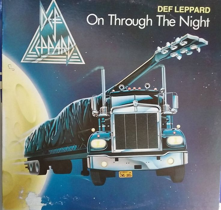 Def Leppard, On Through the Night, Vintage Record Album, Vinyl LP, Classic Rock and Roll, British Rock Band, Heavy Metal, Hard Rock, Debut by VintageCoolRecords on Etsy