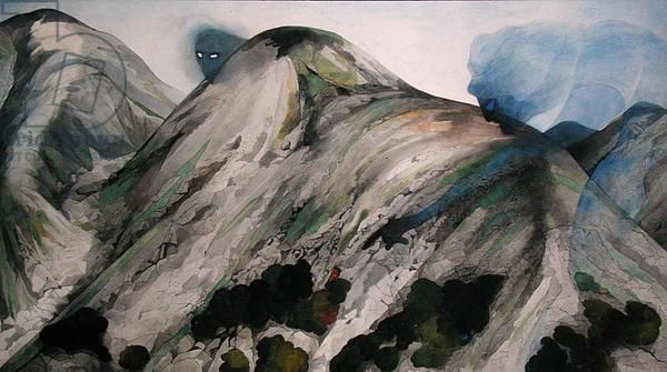 Snowdonia No. 2 (undated) by Edward Burra