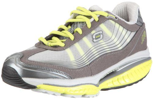 Skechers Womens Resistor Resistance CharcoalLime 95 >>> Want to know more, click on the image.(This is an Amazon affiliate link)