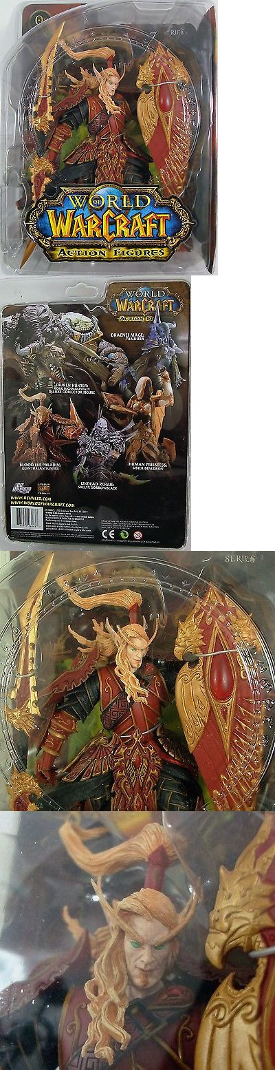 World of Warcraft 168258: World Of Warcraft Blood Elf Paladin Quin Thalan Sunfire Series 3 Action-Figure -> BUY IT NOW ONLY: $49.99 on eBay!