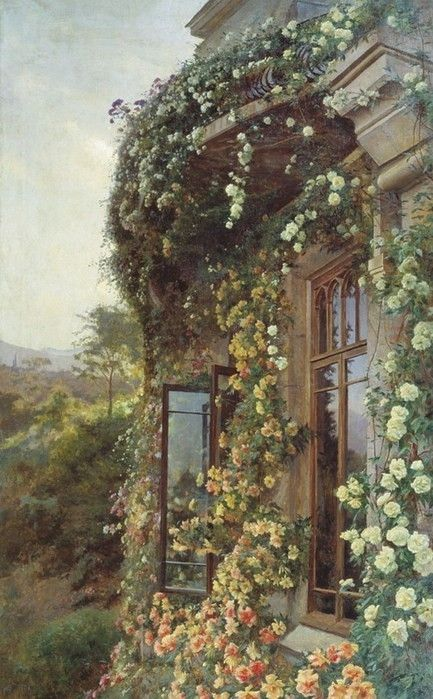 Roses 'round the window