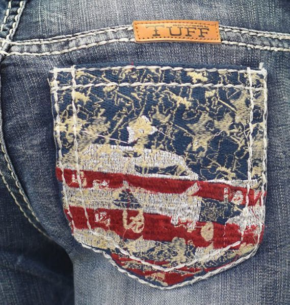 BunkhouseWestern | Liberty Cowgirl Tuff Jeans