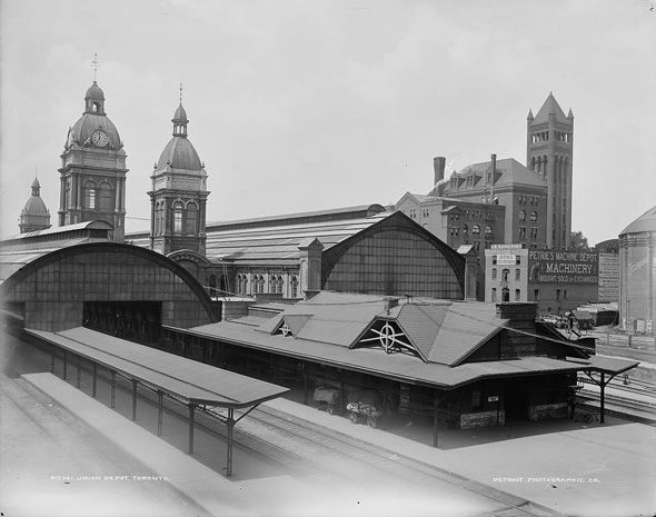 The lost train stations of Toronto
