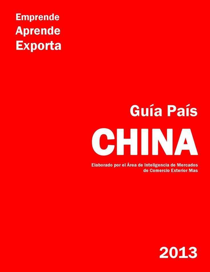 2013 guía país china  Información sobre el mercado de China