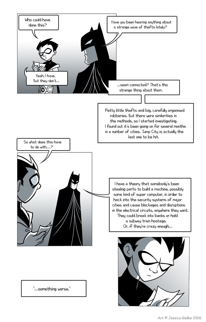Teen Titans Comic, Page 11  First Page  I Like This -9467
